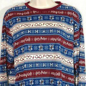 Harry Potter Shirt Stretch Knit Top Crewneck